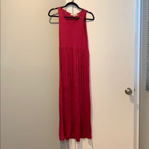 Loft Pink Maxi Dress